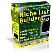 Pay for *NEW!* Niche List Builder v2.0 Software - Create Opt-In Pages!