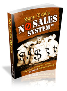 Thumbnail  *NEW!*	   Guaranteed Income Online - Without Selling Anything! - Ewen Chia has launched The No Sales System.