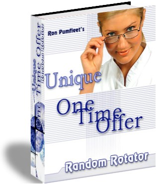 Pay for *NEW!*  One Time Offer Random Rotator + Error Page Generator