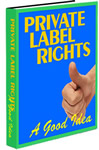 Pay for *NEW!*  PLR   A Good Idea - MASTER  RESALE RIGHTS