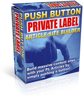 Pay for *NEW!* Push button Private label Aricle Site Builder Index