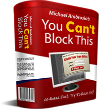 Pay for *NEW!*  You Cant Block This! - Powerful Popup Software | Unblockable Pop-up Creator