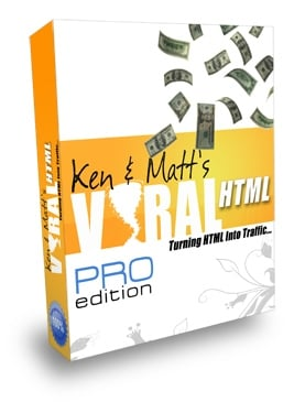 *NEW!*  Viral HTML -Turning HTML Into Traffic - PRIVATE LABEL RIGHTS