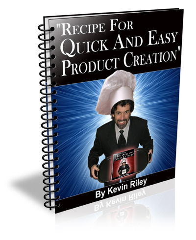 Pay for *NEW*   Recipe For Quick And Easy Product Creation - Reports For $7 Secrets