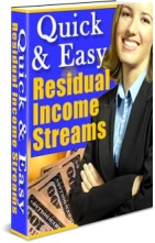 Pay for *NEW!* Quick and Easy Residual Income Streams | Make easy money