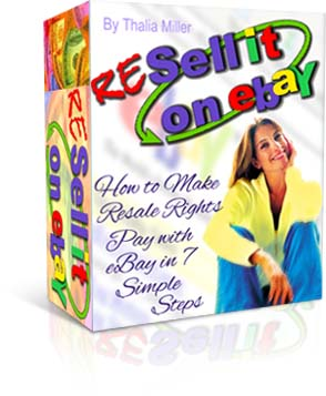 Pay for *NEW!*   Resell It On eBay - How To Make Resale Rights Pay On eBay In 7 Simple Steps