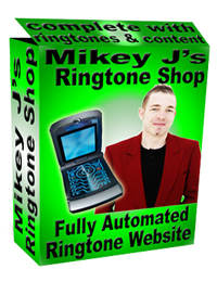 Pay for *NEW!* Ringtone Shop - Mobile Entertainment Content Ringtone Script - Fully stocked automated ringtone website! Sell ringtones online!