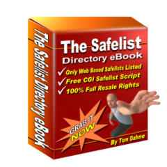 Pay for *NEW!* The Safelist Directory eBook |  Get over 600 web-based mailer safelists in this directory (and growing all the time)