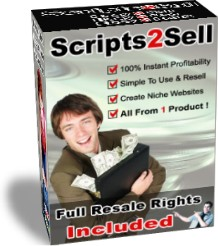 Pay for *NEW*  Scripts2Sell  -  Resell Rights -  Scripts 2 Sell | 100 Profit Pulling Kit Gives Everyone The Power To Create Niche Websites | NICHE SITE BUILDER COLLECTION