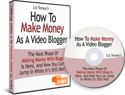 Pay for *NEW!*	 How To Make Money As A Video Blogger - MASTER RESALE RIGHTS | Making Money With Blogs