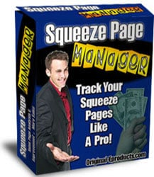 Pay for *NEW!*   Squeeze Page Manager | Track Your Squeeze Pages Like A Pro!