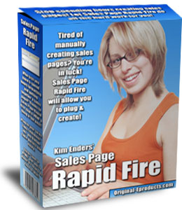 Pay for *NEW!* Sales Page Rapid Fire - MASTER RESALE RIGHTS | Creating Professional-Quality Sales Pages Without HTML And Formatting Headaches
