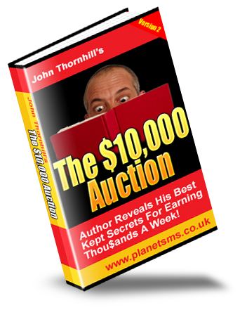 *NEW!*  The Amazing $10,000 Auction - Learn How To Make Big Profit From eBay