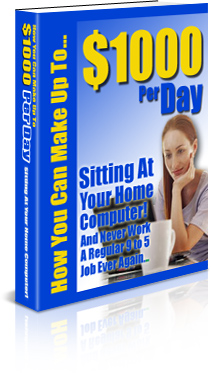 Pay for *NEW!* You Can Make Up To $1000 Per Day: Sitting at Your Home Computer - Private Label Rights