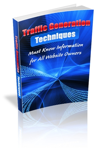 *NEW!* Traffic Generation Techniques - Master Resell Rights | Drive Steady Stre