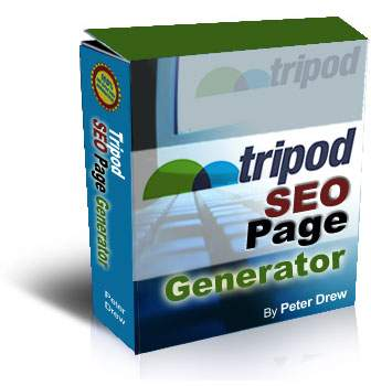 Pay for *NEW!*	 Tripod SEO Page Generator |  Generate Unlimited Sites, Pages on Tripod Easily