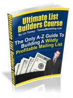 Pay for *NEW!*  Ultimate List Builders Course -  by Liz Tomey - MASTER RESALE RIGHTS