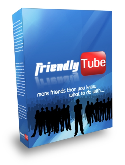 Pay for *NEW!* FriendlyTube YouTube Friend Adder - MASTER  RESALE RIGHTS | Add New Friends And Comments To Your YouTube Account On Autopilot!