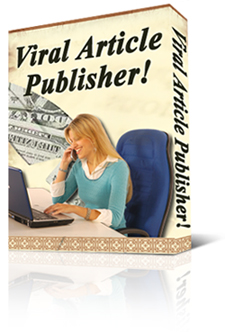 *NEW!* Viral Article Publisher Software Program | Great way to get free advertising