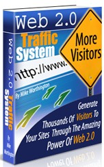 Pay for *NEW!* Web 2.0 Traffic System - How To Generate Thousands Of Extra Visitors To Your Website Or Blog Using The Power Of Web 2.0