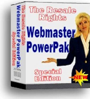 *NEW!* Resale Rights Websites Webmaster PowerPak | Collection Of Webmaster Tools