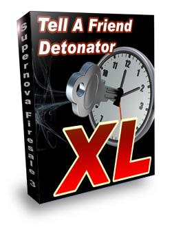 *NEW*  Tell A Friend Detonator XL -  Master Resell Rights|Tell A Friend Script