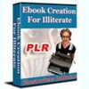 Thumbnail ebook Creation illiterate