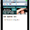 Thumbnail Auto Repair Mobile Web Template