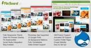 Thumbnail PinBoard 2.1.2 + MOBILE APP for Drupal