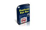 Thumbnail WordPress Plugin -Duplicate Bye Bye