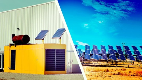 Pay for Planning Hybrid photovoltaic-diesel energy systems