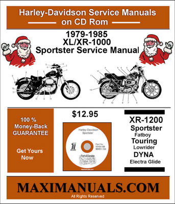 Pay for 1979-1985XL/XR-1000 Sportster Service Manual