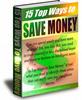 Thumbnail 10 Top Ways to Save Money