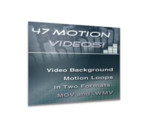 Pay for 47 Motion Video Background Loops