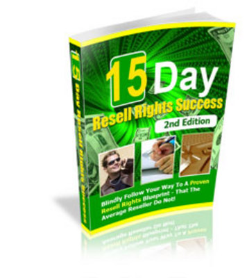 Pay for 15 Day Resell Rights Success! 2nd Edition