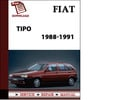Thumbnail 1988-1991 Fiat Tipo Petrol Workshop Repair Service Manual BEST DOWNLOAD