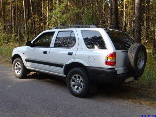 Pay for 1999-2001 Isuzu Frontera UE (aka Opel/Vauxhall/Holden Frontera) Workshop Repair Service Manual BEST DOWNLOAD