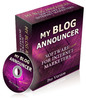Thumbnail **HOT SOFTWARE** My Blog Announcer Pro Version - With PLR