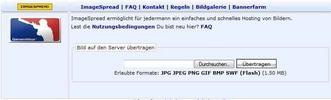 Thumbnail ImageSpread (v1.3) - Image Hosting Software