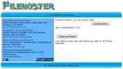 Thumbnail Komplettes Filehosting Service System