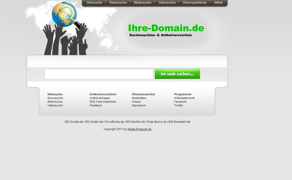 Pay for Web-Suchmaschine