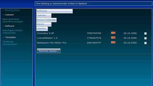 Pay for PDF-LicenseMaker - Lizenzen on-the-fly im PDF-Format erzeuge