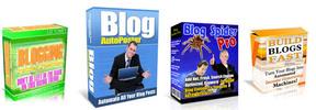 Thumbnail Mega PLR MRR Packs - Webmaster Complete Blog & RSS Package