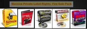 Thumbnail Massive Private Label Rights Fire Sale