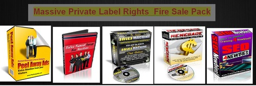 Pay for Massive Private Label Rights Fire Sale