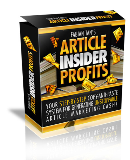 Pay for Complete Article Insider Profit System