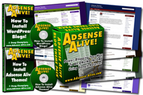 Pay for Adsense Alive Wordpress Theme Pack Bundle