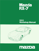Pay for 1993 MAZDA RX7 RX-7 WORKSHOP SERVICE REPAIR MANUAL
