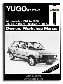 Pay for 1981 - 1990 YUGO / ZASTAVA SERVICE REPAIR MANUAL