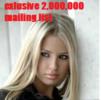 Thumbnail 2,000,000 mailing list exlusive